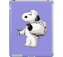 Cute Brian Unmasked Snoopy iPad Case/Skin