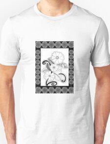 Zen Flowers Unisex T-Shirt