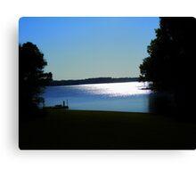 BeautifulShining Lake Silhiouette Canvas Print