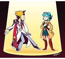 Mystery Skulls: Ghost Trick... part 2! Photographic Print
