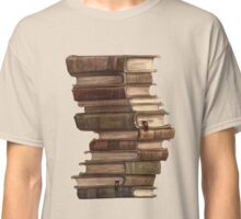 Stack of Books Classic T-Shirt