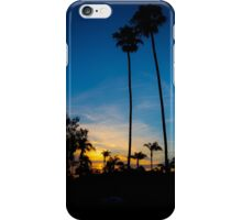 Palm Trees During a Sunset iPhone Case/Skin
