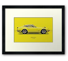 Fairlady 240z Yellow Framed Print