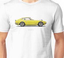 Fairlady 240z Yellow Unisex T-Shirt
