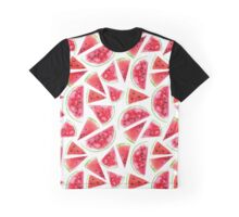 Watercolor watermelon slices  Graphic T-Shirt