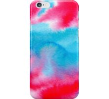 Bright watercolor texture iPhone Case/Skin