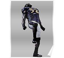 Ray Lewis- Baltimore Ravens Poster