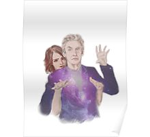 Clara Oswald and The Doctor Poster
