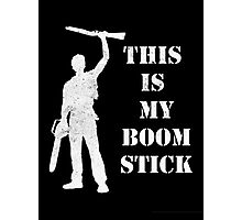 This Is My Boom Stick Photographic Print