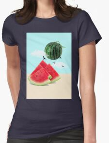 watermelon imaginary Womens Fitted T-Shirt