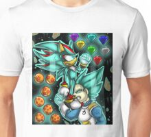 God Mode Reached +Shadow and Vegeta+ Unisex T-Shirt