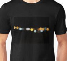 Yellow & Orange Bokeh Unisex T-Shirt