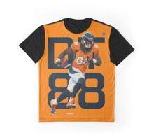 Demaryius Thomas- Denver Broncos Graphic T-Shirt