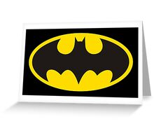 batman original t-shirt Greeting Card