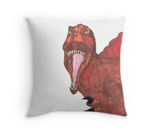 Dino Supreme Throw Pillow