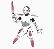 Robo Girl 004 One Piece - Short Sleeve
