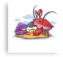 crab robber Canvas Print