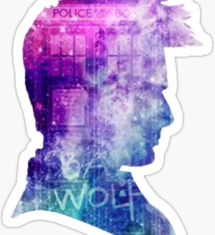 doctor who-tenth doctor David Tennant  Sticker