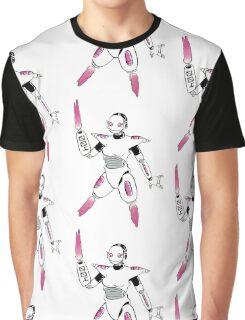 Robo Girl 004 Graphic T-Shirt