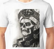 ghost bc white face Unisex T-Shirt