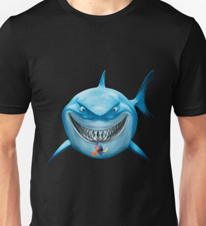 Blue Shark Attack Unisex T-Shirt