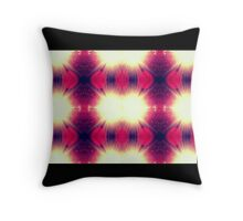 Ruby Sunbeams Throw Pillow
