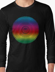 Magical Colour Spiral Rainbow Long Sleeve T-Shirt
