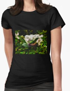 Textured Nature Womens Fitted T-Shirt