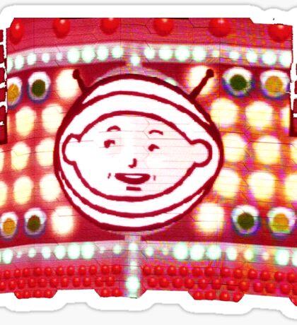 u2 - zooboy during 360 tour Sticker