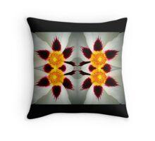 Petal Prism Throw Pillow