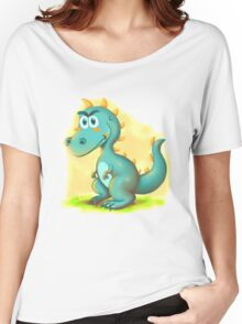 Cute Dino Cartoon Character Women's Relaxed Fit T-Shirt