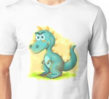 Cute Dino Cartoon Character Unisex T-Shirt