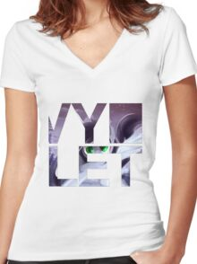 Vy ~ Classic Women's Fitted V-Neck T-Shirt
