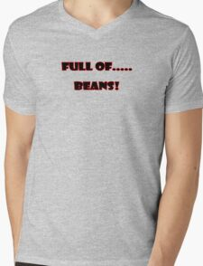 Full of Beans! Kids T-Shirt Baby Jumpsuit Mens V-Neck T-Shirt