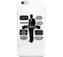 Chandler Bing Quotes. Friends. iPhone Case/Skin