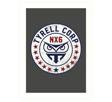 Tyrell Corporation - Nexus 6 Art Print