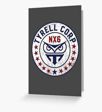 Tyrell Corporation - Nexus 6 Greeting Card