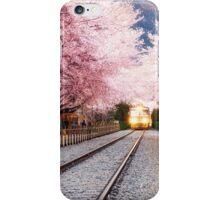 spring blossom station iPhone Case/Skin