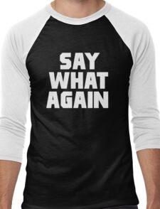 Pulp Fiction - Say What Again Men's Baseball ¾ T-Shirt