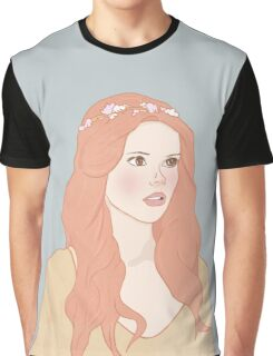 Pastel color girl Graphic T-Shirt