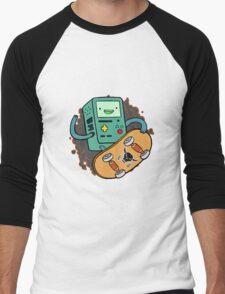 Main Brain Game Frame Men's Baseball ¾ T-Shirt