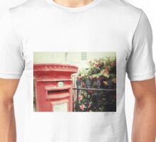 Postbox and Camellias Unisex T-Shirt