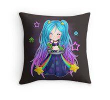 Sona chibi - League of Legends Throw Pillow