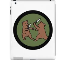 4chan /out Bears Patch iPad Case/Skin