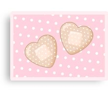Get Well Hearts Canvas Print