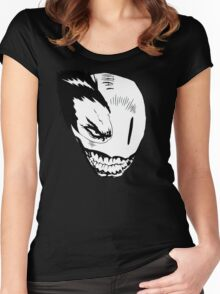 Psycho Smile alternate Women's Fitted Scoop T-Shirt