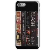 Watch You Bleed - G'n'R Biographies iPhone Case/Skin