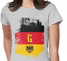 germany at it's best. Womens Fitted T-Shirt