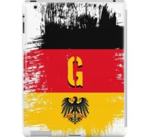 germany at it's best. iPad Case/Skin