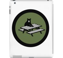 4chan /Out Bear Patch iPad Case/Skin